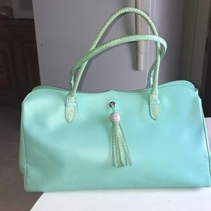 Escada Large Satchel